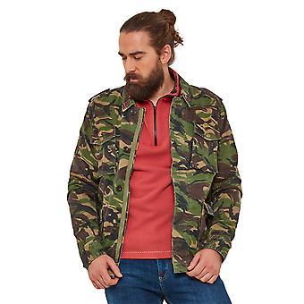 Joe Browns Mens Camouflage jacka med fickor