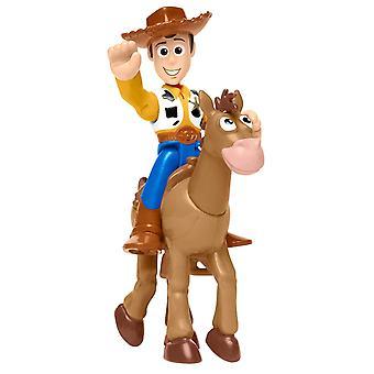 Twinpack Imaginext Toy Story - Woody & Bullseye