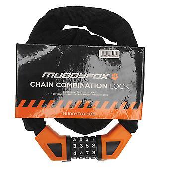 Muddyfox Unisex Chain Combination Lock