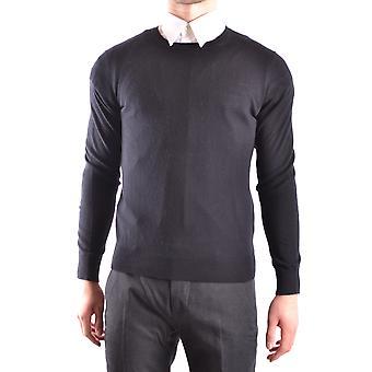 Burberry Ezbc001027 Männer's schwarze Baumwolle Pullover