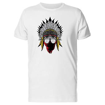 Skull Chief With Sunglasses Tee Men's -Image by Shutterstock