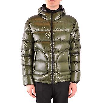 Herno Ezbc034024 Men's Green Nylon Down Jacket