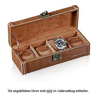 Designhütte watch box 4 camel Brown 70005-132