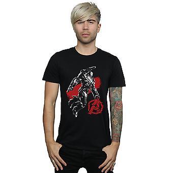 Marvel hommes Avengers Endgame mono guerre machine T-Shirt