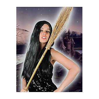 Halloween en horror heksen bezem kleine