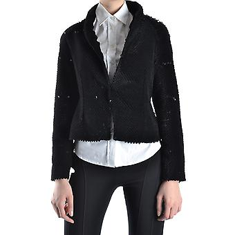 Balizza Ezbc206013 Women's Black Sequins Blazer