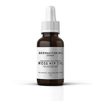 DermaVitamins 100% Organic Cold-Pressed Rose Hip Oil