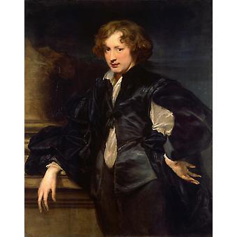 Auto-retrato, Anthony Van Dyck, 50x40cm