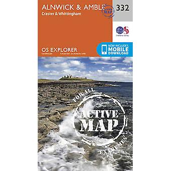 Alnwick and Amble - Craster and Whittingham by Ordnance Survey - 9780