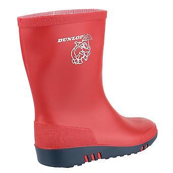 Stivali Wellington Dunlop Unisex per bambini Elefante Mini
