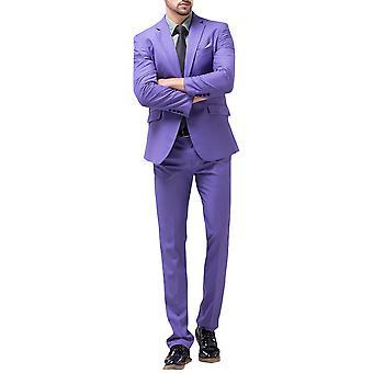 Allthemen heren pak Business Wedding 2-delig pak blazer & broek 10 kleuren