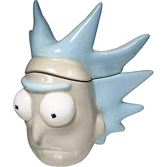 Molded Mug - Rick & Morty - Rick 3D Ceramic Cup New mcmg-rm-rick