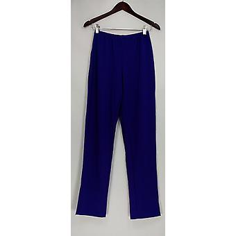 Susan graver vrouwen ' s broek Essentials Lustra brei paars A285514