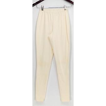 Femmes avec leggings de commande XXS Contrôle régulier Fit Pull-On Knit Ivory A235949