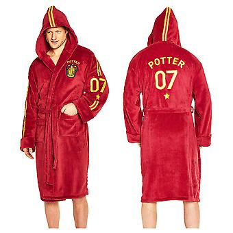 Harry Potter Quidditch Fleece Bademantel