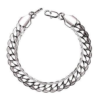 Bracelet-Cuban Link, Argent