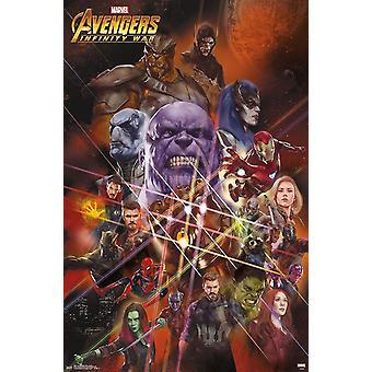 Poster - Studio B - Avengers - Infinity Wars 23