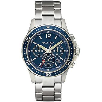 Nautica Watch NAPFRB011 - Plated Stainless Steel Gents Quartz Chronograph