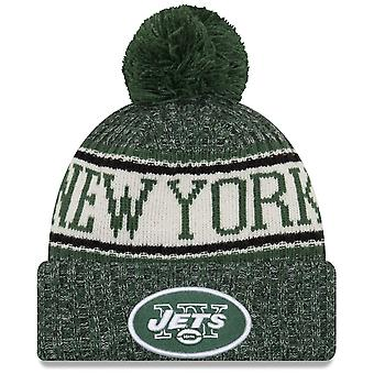 New era NFL sideline 2018 Bobble Hat - New York Jets