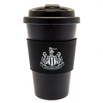 Newcastle United FC siliconen grip Travel mug