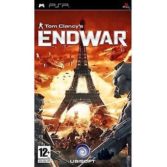 Tom Clancys End War (PSP) - New