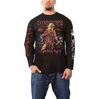 Cannibal Corpse T Shirt Eaten Back To Life new Official Mens Black Long Sleeve