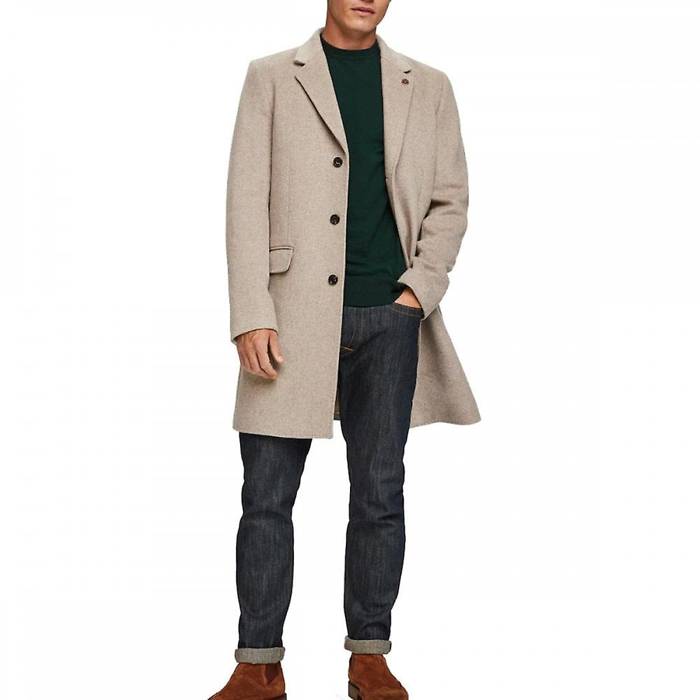 Scotch & Soda Classic Single Breasted Long Coat