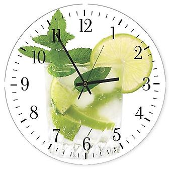 Decorative Clock With Picture, Mohito