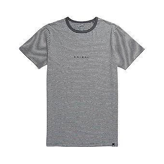 Animal Untitled Short Sleeve T-Shirt in Grey Marl
