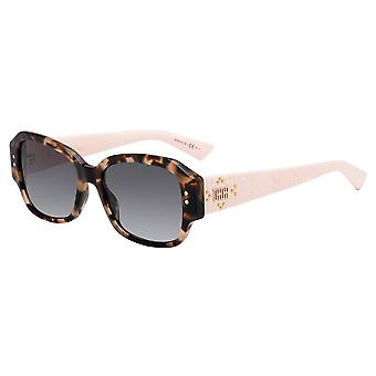 Dior Lady Dior Studs 5 01K/9O Havana-Light Pink/Dark Grey Gradient Sunglasses