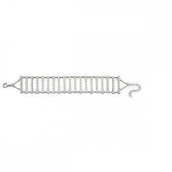 Elements Silver Bar With Frosted Finish Bracelet B5151