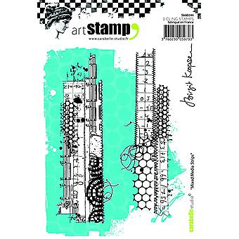 Carabelle Studio Cling Stamp A6-Mixed Media Strips