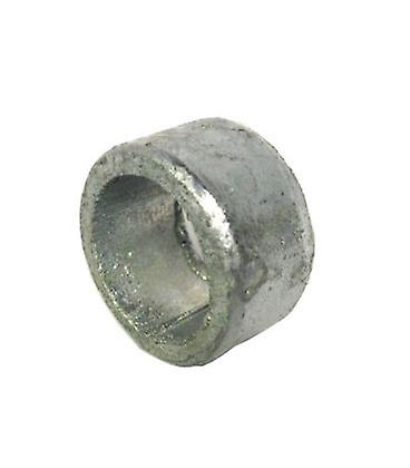 Non Threaded Spacer / Washer 15 Mm Id 12 Mm Length - Galvanised Mild Steel