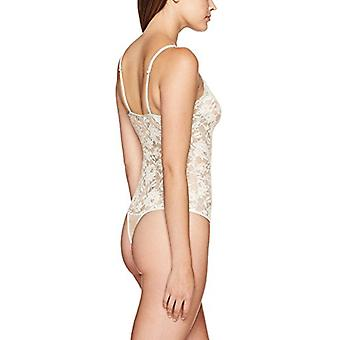 Cosabella Women's NSN Thong Back Teddy, Moon Ivory, Large