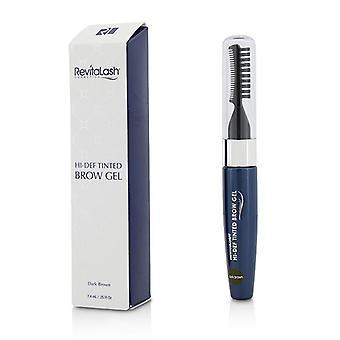 Revitalash Revitabrow Hi Def Tinted Brow Gel - Marrone scuro - 7.4ml/0.25oz