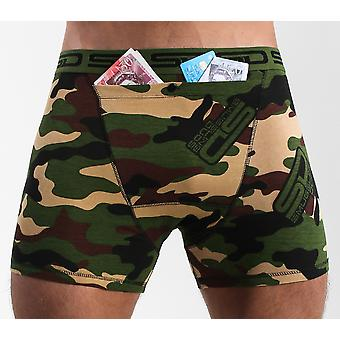 Smuggling Duds Stash Boxers - Jungle Camo