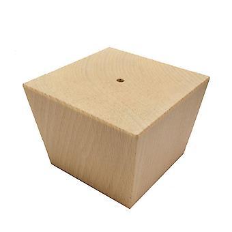 Trä trapetsformade möbler ben 8 cm