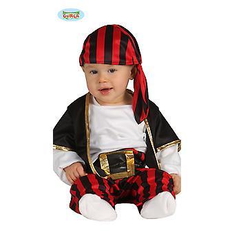 Piraat kostuum piraat kostuum kind 6-12 maanden