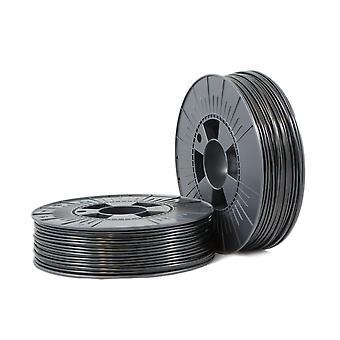 PLA 2,85mm negro ca. RAL 9017 0,75kg - Suministros de filamento 3D