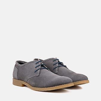 Dan grey suede desert shoe