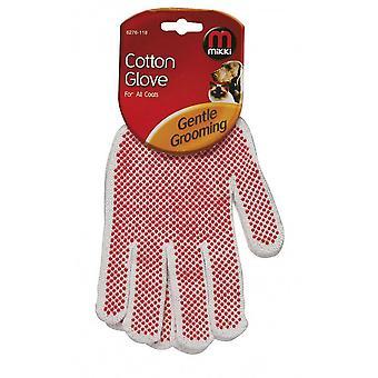 Interpet Limited Mikki Cotton Dog Grooming Glove