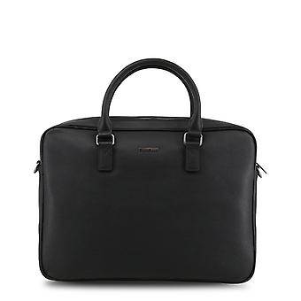 Armani jeans men's briefcase black with black logo 932530 cd991