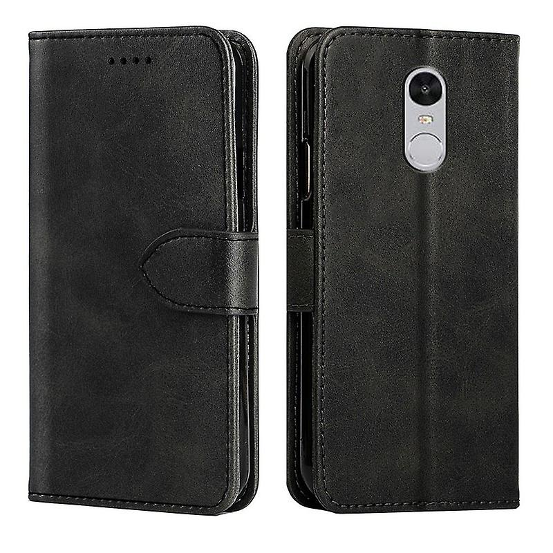 CaseGate phone case case for Xiaomi Mi Note 3 case cover - with lock closure, stand function and card compartment