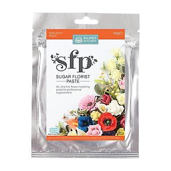 Squires Kitchen SFP Sugar Florist Paste Nasturtium (Peach) 100g
