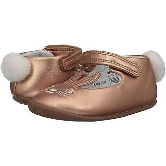 Carter's Every Step Girls' Stage2 Stand, Esti-SG Ballet Flat, Pink,