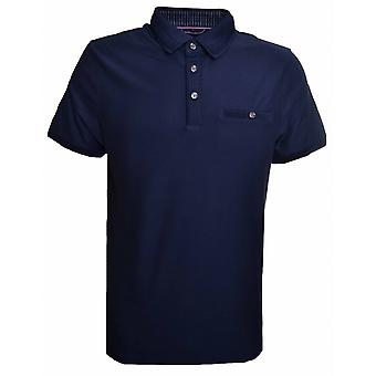 Ted Baker Men's Navy Blue Jayez Polo Shirt