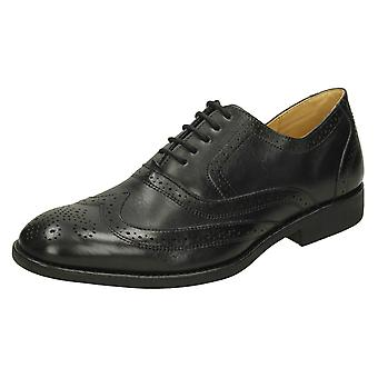 Mens Anatomic Formal Lace Up Leather Brogue Shoes Charles II  808036