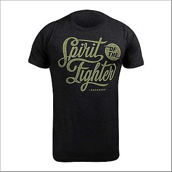 Hayabusa classic spirit of the fighter t-shirt - black