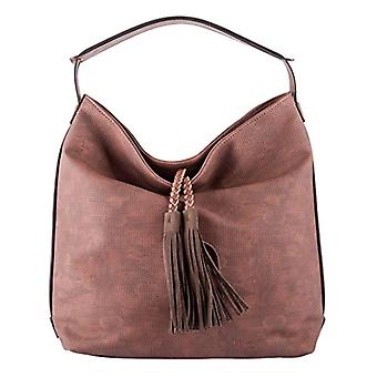 LALU' Low Red Women's Shoulder Bag (Bordeaux) 15x36x32 cm (W x H x L)