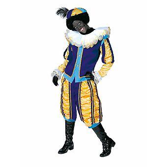 Musta Peter Piet Nikolaus miesten puku Ruprecht palvelija yhtenäinen miesten puku
